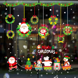 Christmas-Window-Wall-Stickers-Snowflake-Elk-Santa-Claus-Party-Xmas-Decors-2020