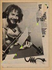 Jean-Luc Ponty Zappa LP advert Creem magazine 1979