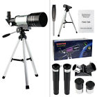 HOT 70mm Refractor Terrestrial&Astronomical Telescope+Tripod&Eyepiece Astronomer