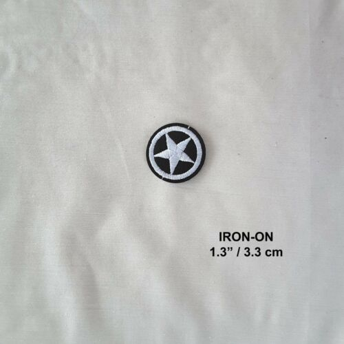 Northern Star Iron-on Embroidered Badge Nautical Patch US Navy Marine Applique