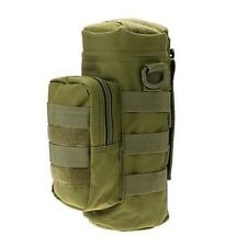 Molle Water Bottle Bag Outdoor Hiking Pouch Bag Army Green