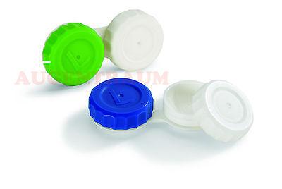 6 Kontaktlinsen Behälter Grün Weiß 6 Stück Für Alle Kontaktlinsen Neu