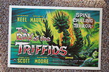 The day of the Triffids Lobby Card Movie Poster Janette Scott  Kieron Moore
