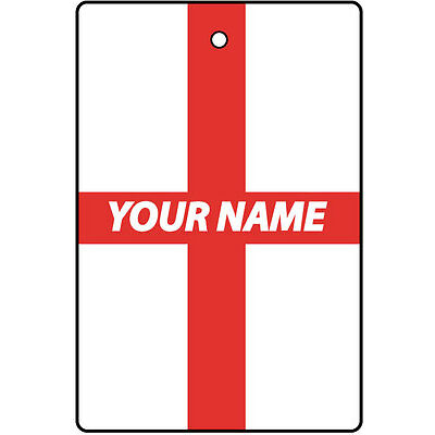 ENGLAND CUSTOM CAR AIR FRESHENER