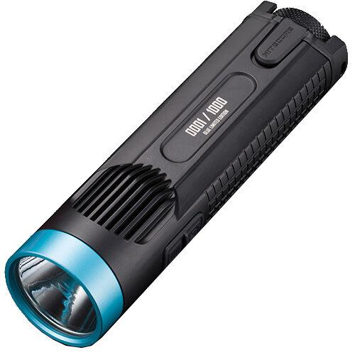 Nitecore EC4GT Limited Edition -1000 CREE XP-L HI V3 -1000 Edition Lumens Blau 6a16fb