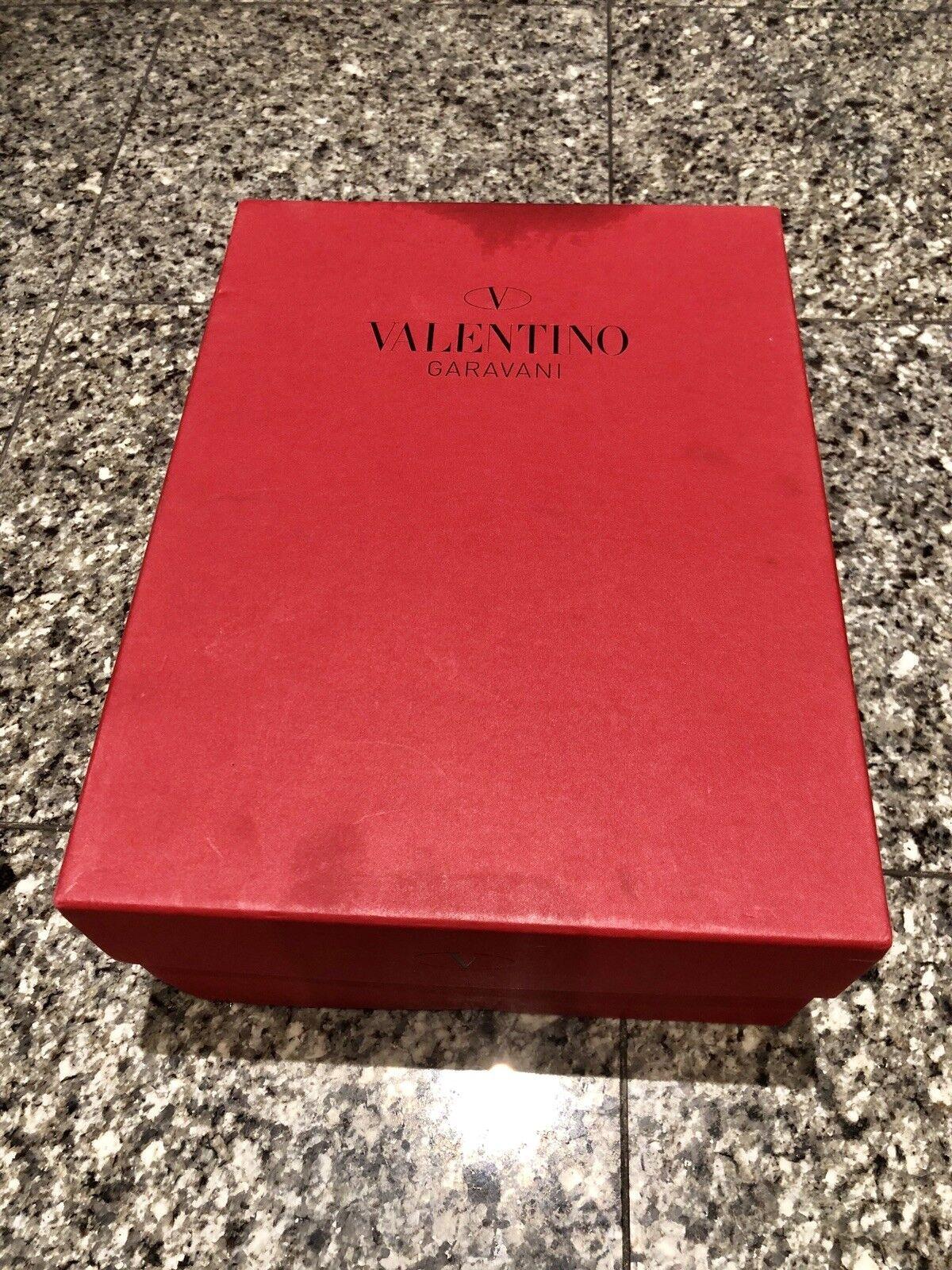 Valentino en en en satin noir nœud dentelle Talons be257c