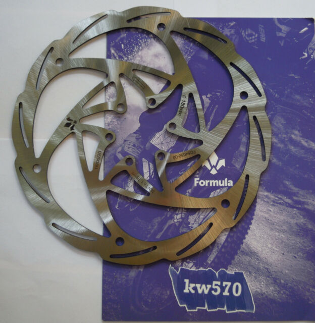 """Formula Disc Monolithic Care 4 6 Screws//Screws 160//180//203mm-6/""""//7/""""//8/"""" NEW"""