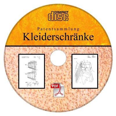Kleiderschrank Selber Bauen Kleiderschränke,106 Deutsche Patente Als Pdf Auf Cd Gebäudebausätze