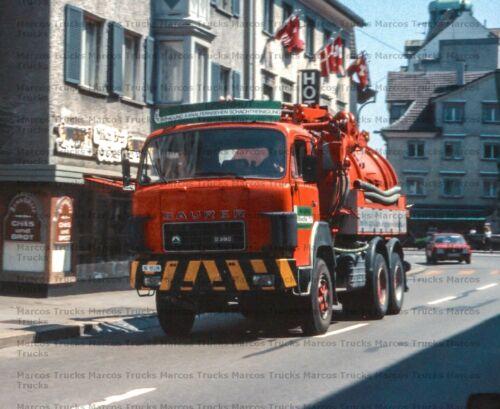 LKW Foto Saurer D290 Motorwagen Saugwagen Sankt Gallen 10x15//LF263