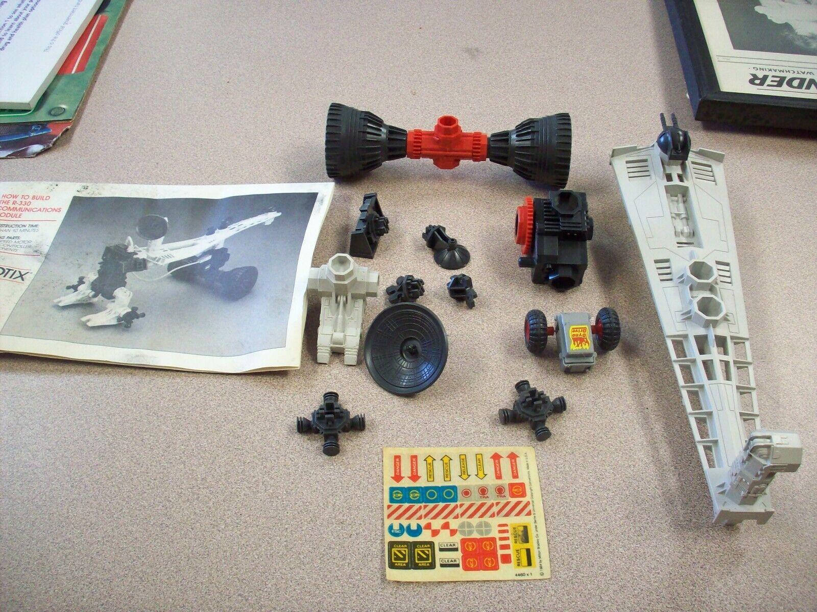 Vintage Milton Brabley Robotix series R-330 with box