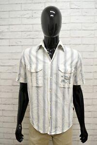 Camicia-MARLBORO-CLASSICS-Uomo-Taglia-M-Maglia-Chemise-Shirt-Man-Manica-Corta