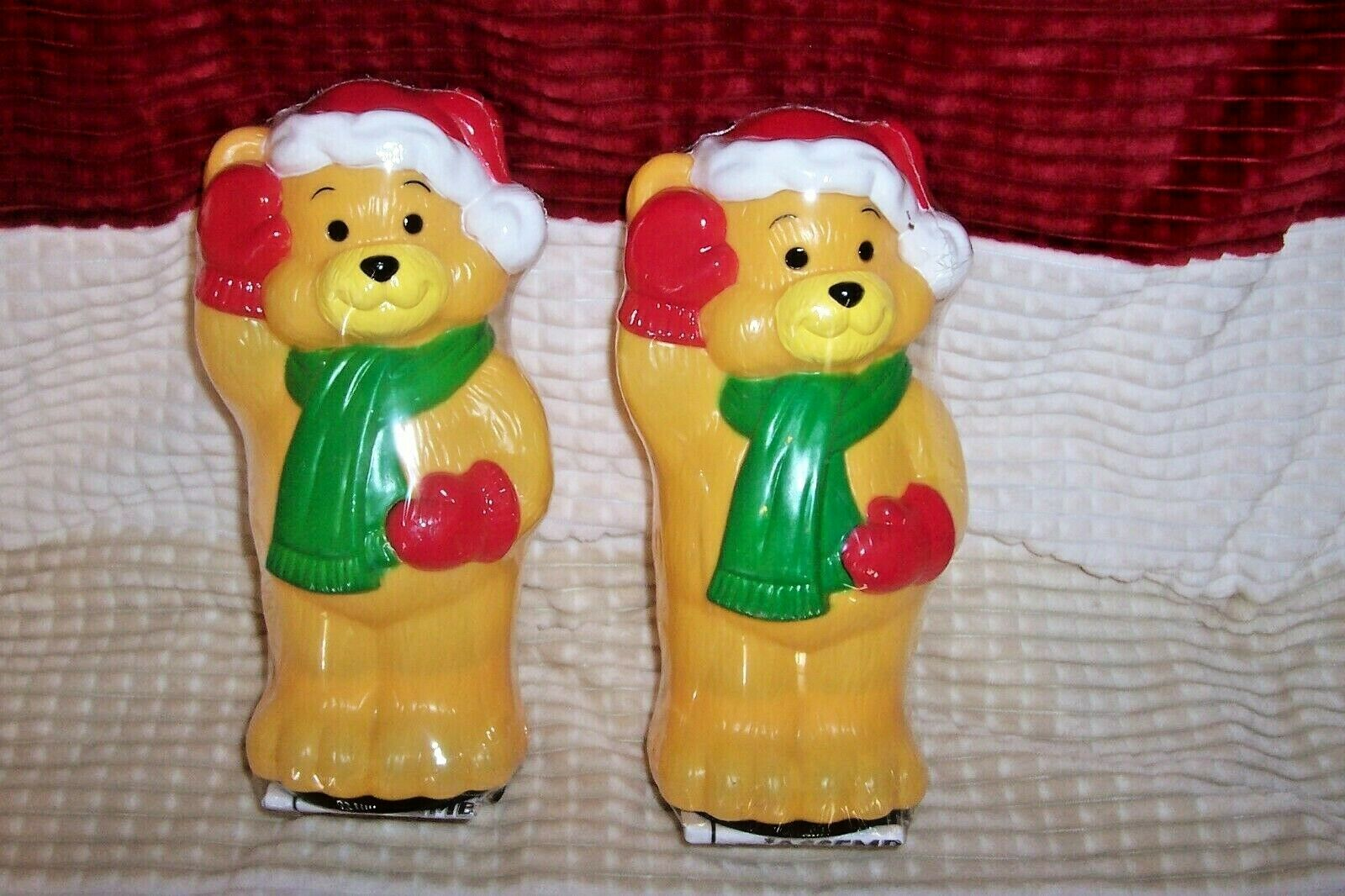 """NEW 10/"""" Bear Toro Malibu Outdoor Pathway Blow Mold Light Topper 8 Available"""