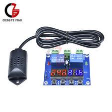 Xh M452 Dc 12v Dual Led Temperature Amp Humidity Control Thermostat Sensor Probe