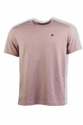 Champion Small Logo T-Shirt Dusty Pink