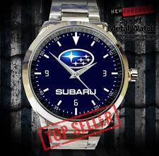 Special Subaru WRC Rally Team Racing Logo Car Sport Metal Watch Hot For Gift #TI