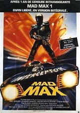 Affiche 120x160cm MAD MAX (1979) George Miller - Mel Gibson, Joanne Samuel EC