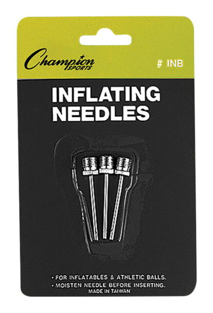 Pack of 3 Ball Inflating Needles