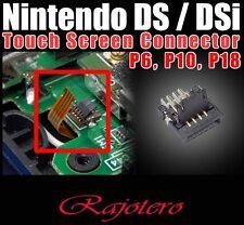 CONECTOR P6 P10 P18 PANTALLA TACTIL PARA NINTENDO DS LITE DSL DSi 3Ds NDSL NDSi