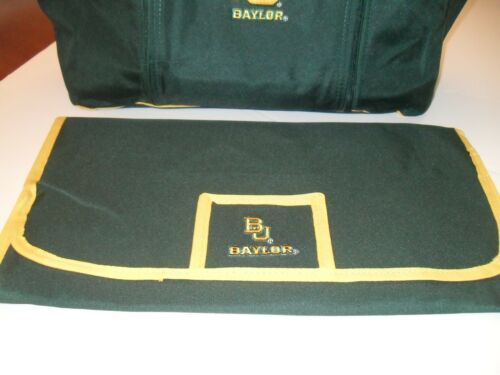 Brand New Green Baylor University Bears Baby /& Toddler Diaper Bag w//Changing Pad