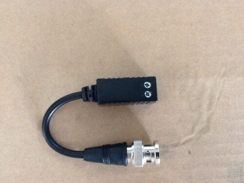 Video Balun Twisted Pair Video Over Cat 5 tvi ahd camera Hikvision compatible