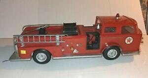 Vintage 60's A.M.F. Wen-Mac Texaco Havoline Fire Chief Truck