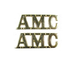 Shoulder-Title-AMC-Gold-Shank-amp-pin-Size-40-x-15-mm-Sold-Pair-R1713