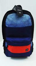 RVCA Skate Surf BACKPACK Blue BAG School Frontside 18x17x5 Laptop Tablet New