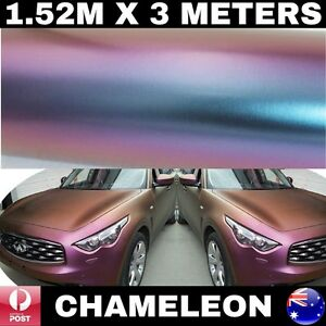 Car Stickers Color Change Chameleon Glossy Body Vinyl Wrap Decals Air Release