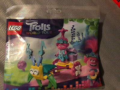 LEGO Trolls World Tour Poppy/'s Carriage Polybag 30555 NEW SEALED