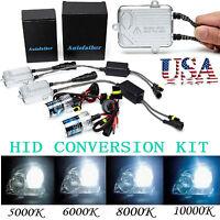 H7 55w Hid Conversion Kit All Colors Xenon Headlight Light Bulbs Slim Ballast