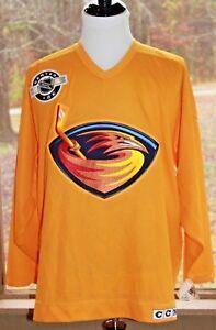 CCM-Size-XL-Atlanta-Thrashers-NHL-Jersey-Men-039-s-Center-Ice-Brand-NWT-Rare-AE