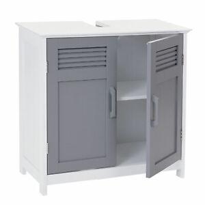 Waschbeckenunterschrank-MCW-A85-Badschrank-60x60x30cm-grau