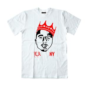 062e69bbde2501 Biggie Tupac T-Shirt To Match Retro Jordans 3 Katrina NRG Tinker 11 ...