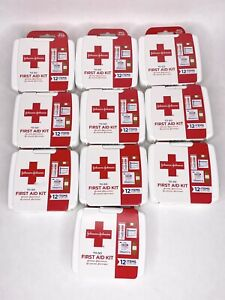 New Sealed JOHNSON & JOHNSON To Go First Aid Kit LOT OF 10