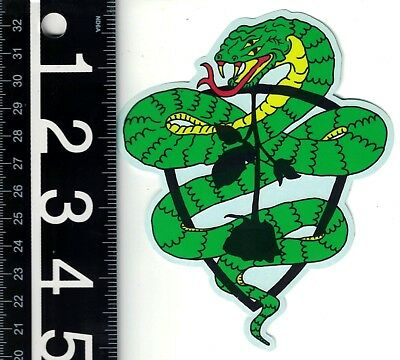 SUBROSA BMX STICKER Subrosa 5.5 in x 3.25 in Black Cycling Motocross Decal
