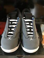 68f9fb0ac10ea2 item 8 Nike Air Jordan XIV 14 Retro 311832-011 GRAPHITE WOLF GREY WHITE  BLUE BLACK 7.5 -Nike Air Jordan XIV 14 Retro 311832-011 GRAPHITE WOLF GREY  WHITE ...