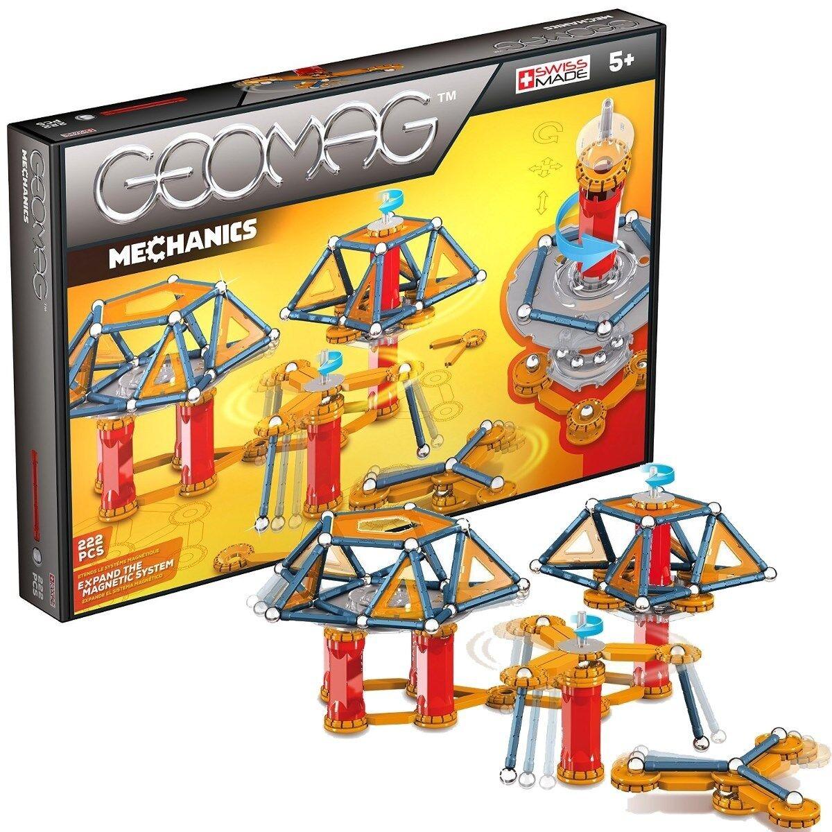 Geomag Geomag Geomag Mechanics 222Teile Magnetbaukasten Magnetspielzeug Konstruktion  723 40ba79