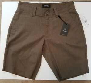 Image is loading NWT-Brixton-Toil-II-Chino-Shorts-Size-28- c51151167ad