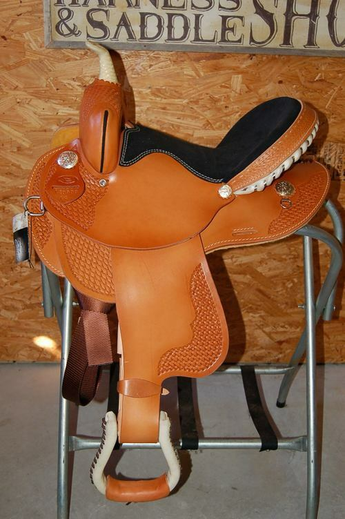 15  GW CRATE BARREL SADDLE MADE IN BRYANT ALABAMA   authentic online