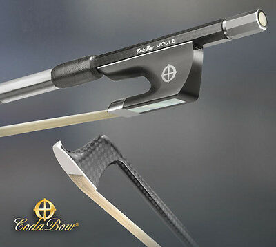 CodaBow Joule Carbon Fiber 4/4 Cello Bow - WE ARE AN AUTHORIZED DEALER!