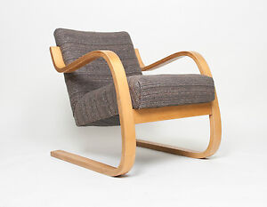 Image Is Loading Alvar Aalto Finsven Early 34 402 Chair Pre