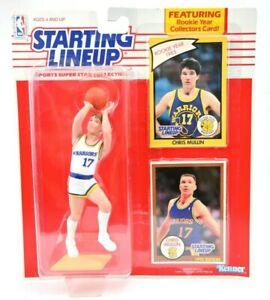 1990 KENNER Starting Lineup NBA Chris Mullin Golden State Warriors Figure A
