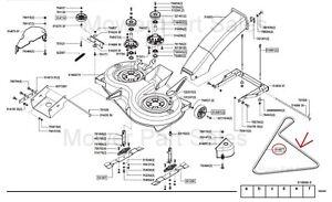 Keilriemen Mähwerk AL-KO Alko T RT 13-102 16-102 17-102 18-102 20-102 HD HDE LUX