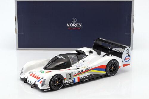 bouchut Peugeot 905 evo 1b #3 winner 24h Lemans 1993 helary Brabham 1:18 norev