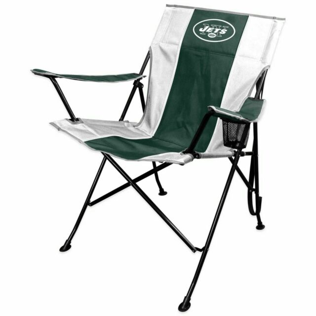 Remarkable York Jets Folding Chair Tlg8 Tailgate Camp Nfl Beatyapartments Chair Design Images Beatyapartmentscom