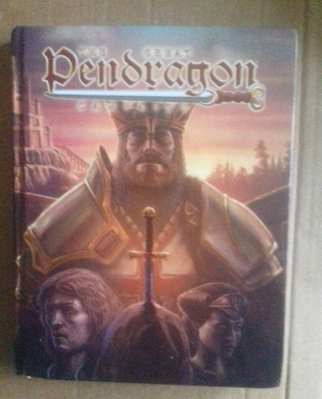 El gran libro de campaña Pendragon Chaosium Stafford Pendragon Rpg Juego de Rol