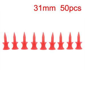 50-Pcs-Red-Golf-Tee-Sport-Double-deck-Golf-Ball-Tees-31MM-FSAU