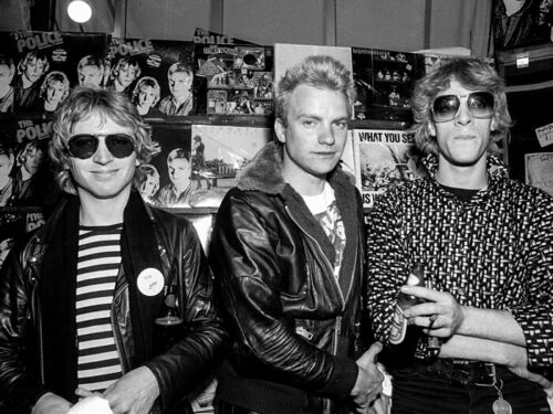 V5991 The Police Rock Music Band Retro Vintage BW Decor WALL PRINT POSTER CA