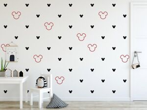 Mickey-Mouse-Wall-Stickers-Set-De-Vinyle-Art-Home-Decor-Personnalisee-Enfants