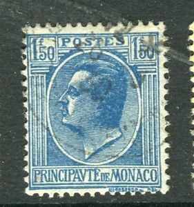 MONACO-1924-early-Portrait-issue-fine-used-1-50Fr-value